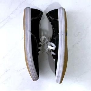 Keds Shoes - Keds Black White Lace Up Tennis Shoes